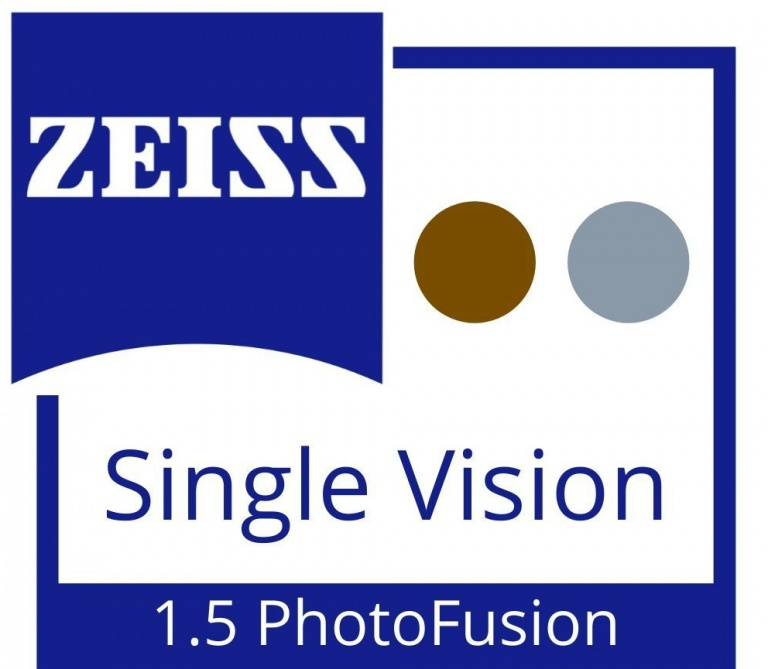 Zeiss Single Vision 1.5 PhotoFusion (Brown/Grey)